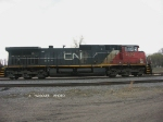 CN 2503 point engine for 406 on this date